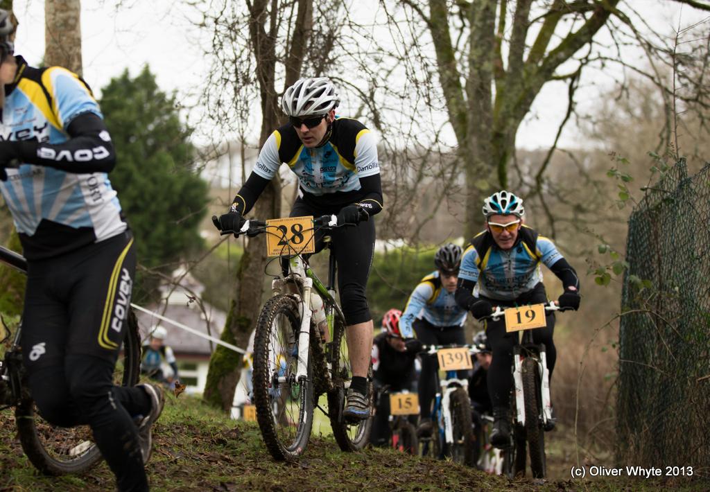 Cyclocross Race at Westport House Old Farmyard
